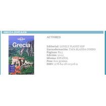 Grecia Lonely Planet 2012 (español) Guia De Viaje