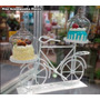 Porta Cupcakes 02 Lugares - Formato De Bicicleta