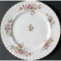 Plato De Cena 26 Cm, Porcelana Royal Albert, Moss Rose .