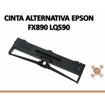 Cinta Alternativa Negra Para Impresora Epson Fx890 Lq590