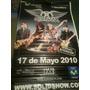 Afiche Pendon De Aerosmith Del Ultimo Concierto En Vzla