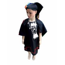 Traje Mapuche Niña De 8-12 Años