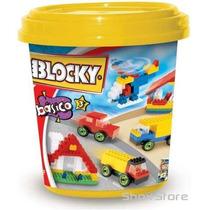 Blocky Balde Basico 3 200 Piezas Ladrillos Rasti Bloques6112