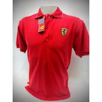 Chomba Ferrari Original 100% Pique - Todos Los Talles