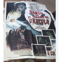 El Santo Cartel Cine Antiguo Orig, 60 X 90 Cm Envio Gratis