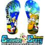 Chinelo Sonic Infantil + Nome