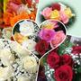 Ramo De Rosas Rojas Flores Naturales Regalo Surtidas