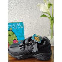 Zapato Colegio 2 Velcros Colloky Niño Talla 27 Nuevo