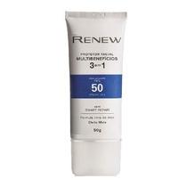 Renew Protetor Facial 3 Em 1 Fps 50