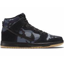 Tênis Nike Sb Dunk Camo U S Military High, A Pronta Entrega
