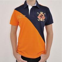 Camisa Polo Black Blue E Boné Original Top!! + Mercado Envio