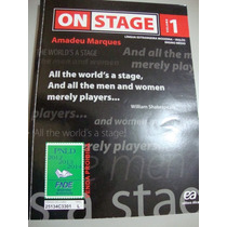 Lote Com 3 Volumes - On Stage 1/2 E 3 - Amadeu Marques