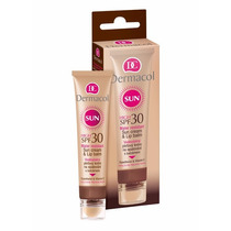 Dermacol 2x1 Protetor Solar Facial E Protetor Labial Fps 30