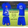 Jogo De Camisa De Futebol Personalizado Uniforme Kit 22 Cnj
