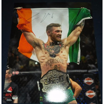 Poster Firmado Conor Mcgregor Mma Ufc 194 The Notorious