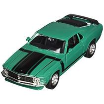 Juguete Maisto 1970 Ford Mustang Boss 302 Hard Top 1/24 Esc