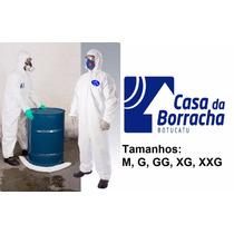 Macacão Segurança Proteção Pintura Fibra Quimico G Unit.