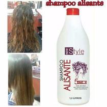 Shampoo Alisante New Style Profissional 1,5 Litro