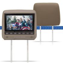 Monitor Encosto Cabeça 7 Lcd Touchscreen Escravo Controle