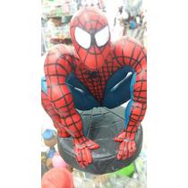 Adorno De Spiderman U Hombre Araña Para Torta En Porcelana