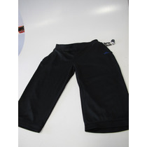 Calza Capri Deportivo Pantalon Negro Mujer Elastizado