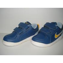 Tenis Infantil Nike Azul Tamanho 25, 15,5 Cm, Muito Novo!