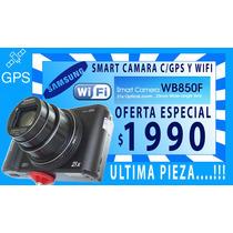 Samsung Smart Digital Camara Wb850f 16.2mp-zoom 21x-gps -wif