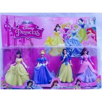 Kit 4 Princesas Da Disney Bonecas Branca De Neve ,cinderela