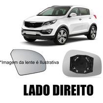 Lente De Vidro Retrovisor Ix35 Lado Direito 2011 Diante