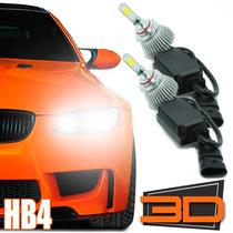 Kit Xenon Lampada Led 3d Hb4 Automotiva Powerled 7200 Lum