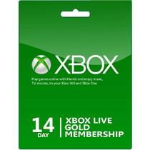 Xbox Live Gold Trial 14 Dias Xbox One Y 360 Envio Inmediato!