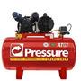 Compressor De Ar Monofásico 110/220v 100 Litros Atg Pressure