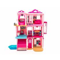Casa De Muñecas Barbie Casita Luces Sonidos Wow