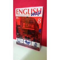 Livro, Cd, Dv English Way- Vol 8 O Curso De Inglês Da Abril