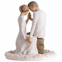 Topo De Bolo Casamento Importado Noivinhos Pronta Entrega!
