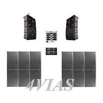 Line Array C/ Sub 2x12+ti Snake Hpx2120 Amps Studior - 4vias