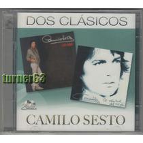 2 Cds ** Camilo Sesto *** Dos Clasicos *** Imp Nuevo Sellado
