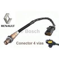 Sonda Lambda 4 Fios Renault Clio Scenic 1.6 16v Gasolina