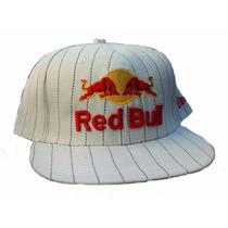 Gorra Red Bull Plana Blanca Mejor Calidad Y Precio