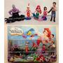 Miniaturas Pequena Sereia Filme Disney Ariel Príncipe