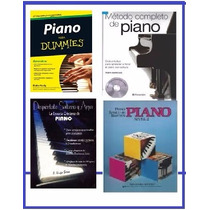 Pack Aprende A Tocar Piano: Libros Pdf Y Audios Mp3