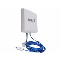 Antena Wifi Cpe Nisuta Placa Usb 2000mw Internet Gratis