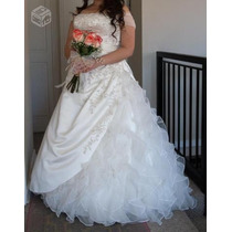 Hermoso Vestido De Novia Punto Clave