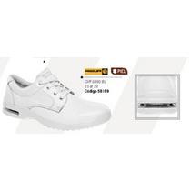 Zapato Para Medico Enfermero Blanco Cliff 8390