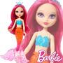Muñeca Barbie Fairytale Mini Sirena Mattel