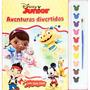 Livro Para Colorir Aquarela Disney Junior - Dcl