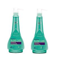 Shampoo E Máscara Matizadora 500 Ml Blond Care Raiz Latina