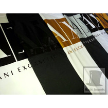Camiseta Camisa Armani Exchange Masculina - Top Melhor Blusa