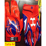 Guantes Football Americano Under Armour Alter Ego: Spiderman