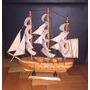Barco Madera De 33cm